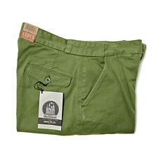 LEVI'S VINTAGE CLOTHING 1920S LEVI'S STRAUSS MAKE CHINO ARTICHOKE GREEN RRP £160