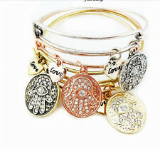 new fashion hot sell The hand of Fatima charm jewelry bangle bracelet