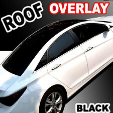 """60"""" Gloss Black-Out Moon Roof Overlay Tint Vinyl Top Cover Sticker Wrapping Film"""