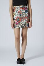 BNWOT SOLD OUT @ TOPSHOP LIMITED PREMIUM POPPY LUREX SKIRT MANY SIZES RRP 38.00