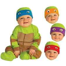 Teenage Mutant Ninja Turtles Fancy Dress Halloween Baby Child Costume 4 COLORS