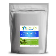 GCB 1000MG CAFFEINE FAT BURNER, STRONG GREEN COFFEE BEAN EXTRACT CAOSULES