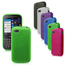 TPU Flex-Gel Rubber Silicone Case / Skin / Cover for BlackBerry Q5