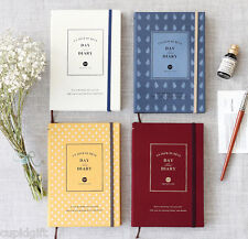 2015 Iconic Day And Diary Planner Journal Scheduler Agenda Korean Book Organizer