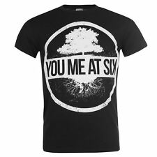 Official Mens You Me At Six Band Tee Short Sleeve Top T-Shirt Crew Neck New