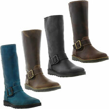 New Oxygen Rhone Womens Leather Boots Ladies Shoes Size UK 4-8