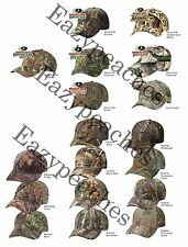 PEACHES PICK LICENSED Camouflage Hat REALTREE MOSSY OAK HUNT Camo Baseball Cap