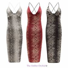 NEW LADIES WOMENS STRING STRAPPY LONG MIDI PENCIL SKIRT BODYCON PARTY DRESS 8-14