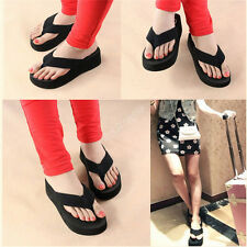 aa Women Summer Sandals Swinging Thick Bottom Beach Flip Flops Slippers Shoes11X