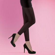 Black Opaque 70 Denier Footless Tights Dance Yoga Small Medium Large Fashion New
