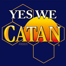 New T-Shirt Yes We Catan Mayfair Games Settlers of Catan OffWorld Designs