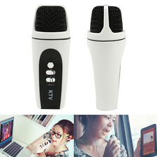 Mini Portable Handheld Microphone for Karaoke Player Home KTV Cell Phone
