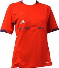 adidas Men's Referee 12 Referee Jersey Referee Jersey Shirt short sleeve red