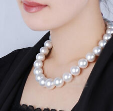 "80%OFF 12-13mm 17"",18"",19"",20',21"",22""  Akoya  White Pearls Necklace Handmade"