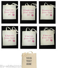 Personalised Tote Bag, Shopping Bag, Cotton Bag, Canvas Bag Personalised Gift,