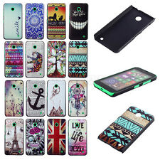 Beauty Patterned Paint Plastic Back Case Cover For Nokia Lumia N630 N635 JACCY