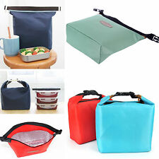 Portable Thermal Small Insulated Cooler Picnic Lunch Carry Tote Storage Bag HOT