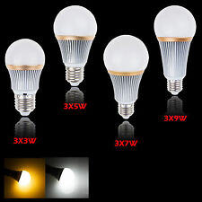 E27 9W 15W 21W 27W Dimmable LED Globe Bulb Lamp Spot light  Bomlillas Focos 220V