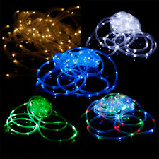 New Solar Powered 100 LED String Fairy Lights Xmas Deco Multi-Color Waterproof