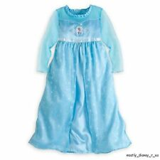 NEW Disney Store Exclusive Frozen Princess Elsa Pajamas Nightgown PJ's 2/3 4