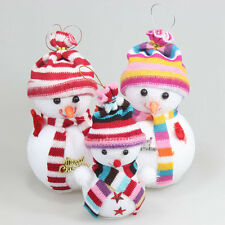 Christmas Winter Holiday Little Doll Outdoor Snowman Inflatable Yard Decoration