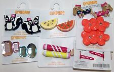 NWT Gymboree Hair Accessories Plastic Metal Barrette Backs CHOICE of ONE