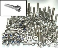 Stainless Steel Bolts +Nuts & Washers Yamaha BWS Crux Dragstar - Bolt kit