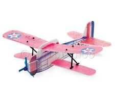 Biplane Flying Poly Glider - Aeroplane Plane Toy Novelty Kids Party/Loot Bags