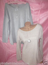 Banana Republic Soft Metallic Gold Silver Shimmer Slouchy Sweater Tunic Holiday