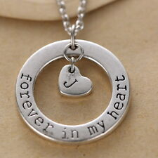 Forever In My Heart Personalized Memorial Handwritten Jewelry Necklace Sympathy