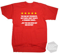 Liverpool You Can't Buy Our History football t-shirt