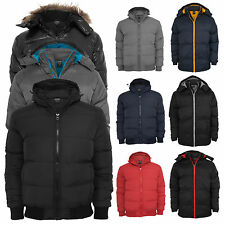 Urban Classics   Men's Winter Jacket +Hood BUBBLE Parka Coat Snowboard Ski