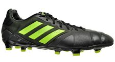 New Adidas Nitrocharge 2.0 TRX FG Mens Soccer Cleats - Black / Green - $100msrp