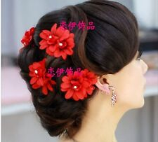 Bridal Wedding Flower Hair Clip Beauteous Pin Prom Party for Girl Women