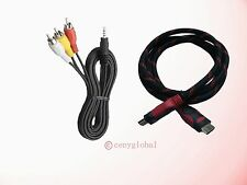 A/V Cable HDMI For Roku LT 1 /2 /3 Digital HD, XD 1080p, XS, XDS Media Streamer