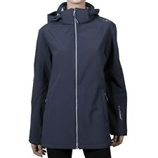 Campagnolo 3a22226 Warm Ladies' Softshell Jacket With Black Blue RRP 79,90€* New