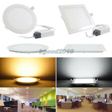 6/9/12/15/18/21W CREE LED Recessed Ceiling Panel Down Light Bulb Lamp + Driver