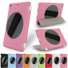 360°Rotating Handheld Leather Case Cover with Hand Strap for iPad 2/3/4/5 Mini
