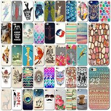 """Colored Drawing Hard PC Case Cover Back Protector For iPhone 6 4.7"""" 6Plus 5.5"""""""