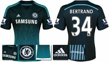 *14 / 15 - ADIDAS ; CHELSEA 3rd KIT SHIRT SS + PATCHES / BERTRAND 34 = SIZE*