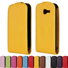 Hard Case Cover For Galaxy Trend Lite S7390 Folio Flip Pouch Sleeve Leather