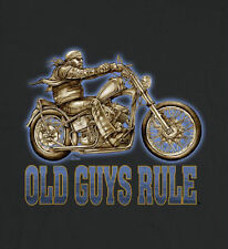 OLD GUYS RULE EASY RIDER MOTORCYCLE TEE SHIRT