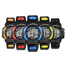 Sports Electronic Quartz Watch Multifunction Round Waterproof For Kids Boy B87