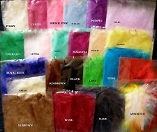 20x  MARABOU FLUFFY FEATHERS  24 Colours- 10-15cm Long - More colours in stock