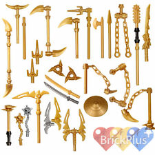 Lego Ninjago Spinjitzu Gold Golden Weapons You Pick Which Weapons You Want
