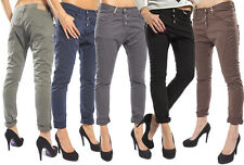 PLEASE JEANS damen P78 BOYFRIEND BAGGY HOSE color MADE IN ITALY WINTER 2015