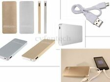 Ultra Thin 20000mAh Universel Power Bank Chargeur Batterie Externe + 1 USB Câble