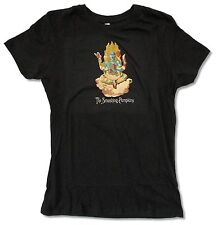SMASHING PUMPKINS INFINITE SADNESS JUNIORS GIRLS BLACK T SHIRT NEW OFFICIAL