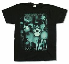 """KORN """"X-RAY"""" BLACK T-SHIRT NEW OFFICIAL ADULT PATH OF TOTALITY"""