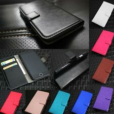 Luxury Glossy PU Leather Flip Wallet Stand Case Cover For LG Optimus Nexus 5 6